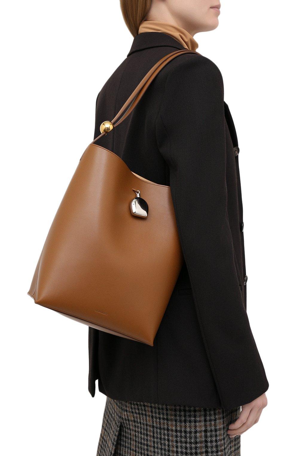 Женская сумка constantin JIL SANDER коричневого цвета, арт. JSPR852449-WRB00076V | Фото 5