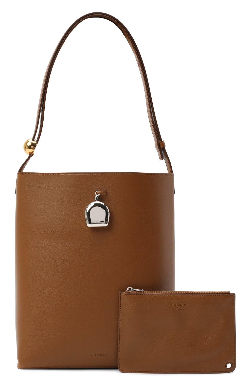 Женская сумка constantin JIL SANDER коричневого цвета, арт. JSPR852449-WRB00076V | Фото 6