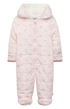 Детский стеганый комбинезон SANETTA FIFTYSEVEN светло-розового цвета, арт. 906850 | Фото 1