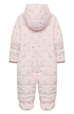 Детский стеганый комбинезон SANETTA FIFTYSEVEN светло-розового цвета, арт. 906850 | Фото 2