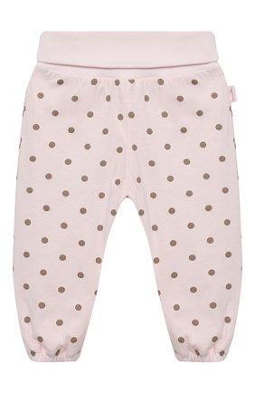 Детские хлопковые брюки SANETTA FIFTYSEVEN светло-розового цвета, арт. 906841 | Фото 1