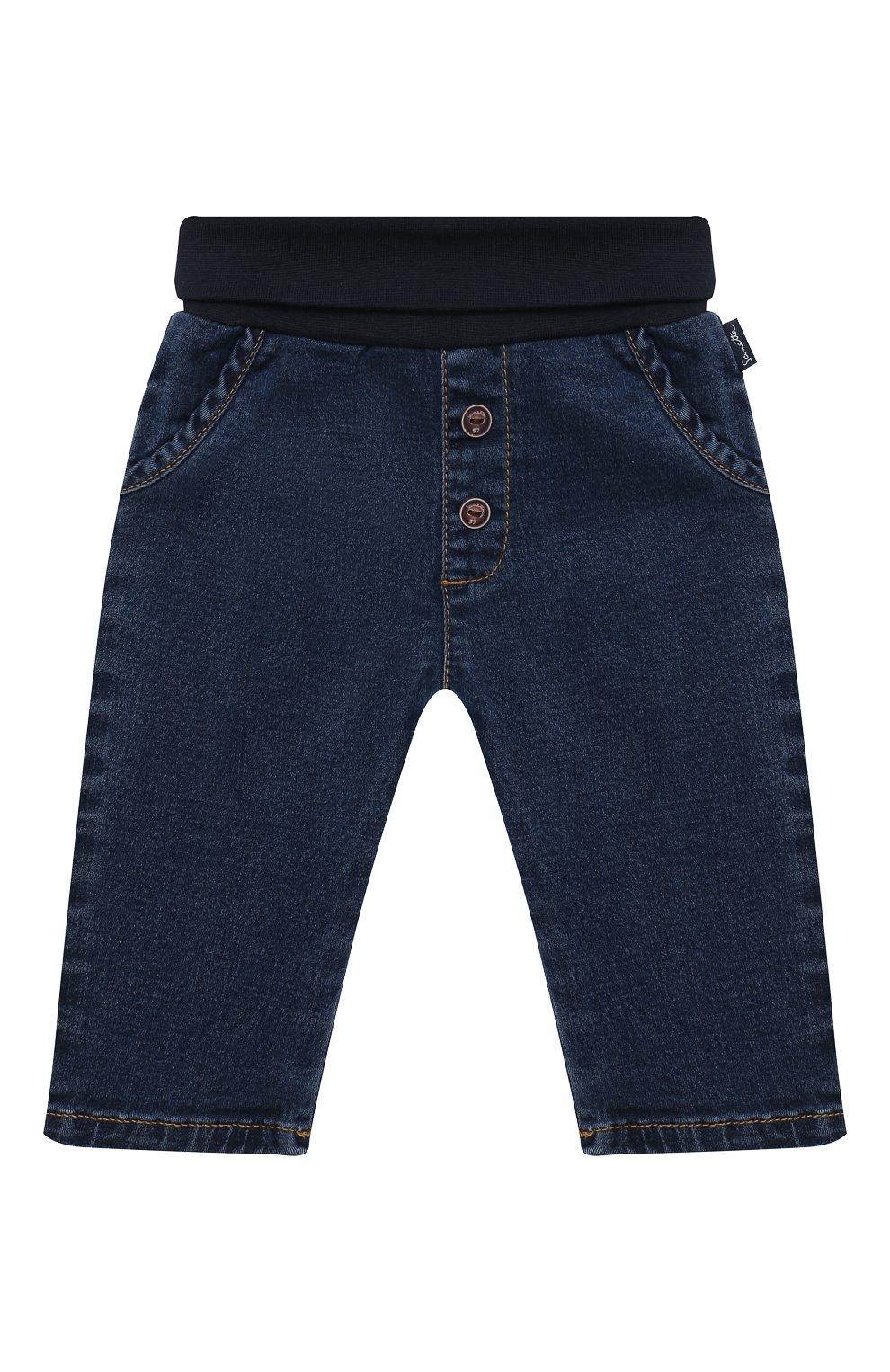 Детские джинсы SANETTA FIFTYSEVEN синего цвета, арт. 902090   Фото 1