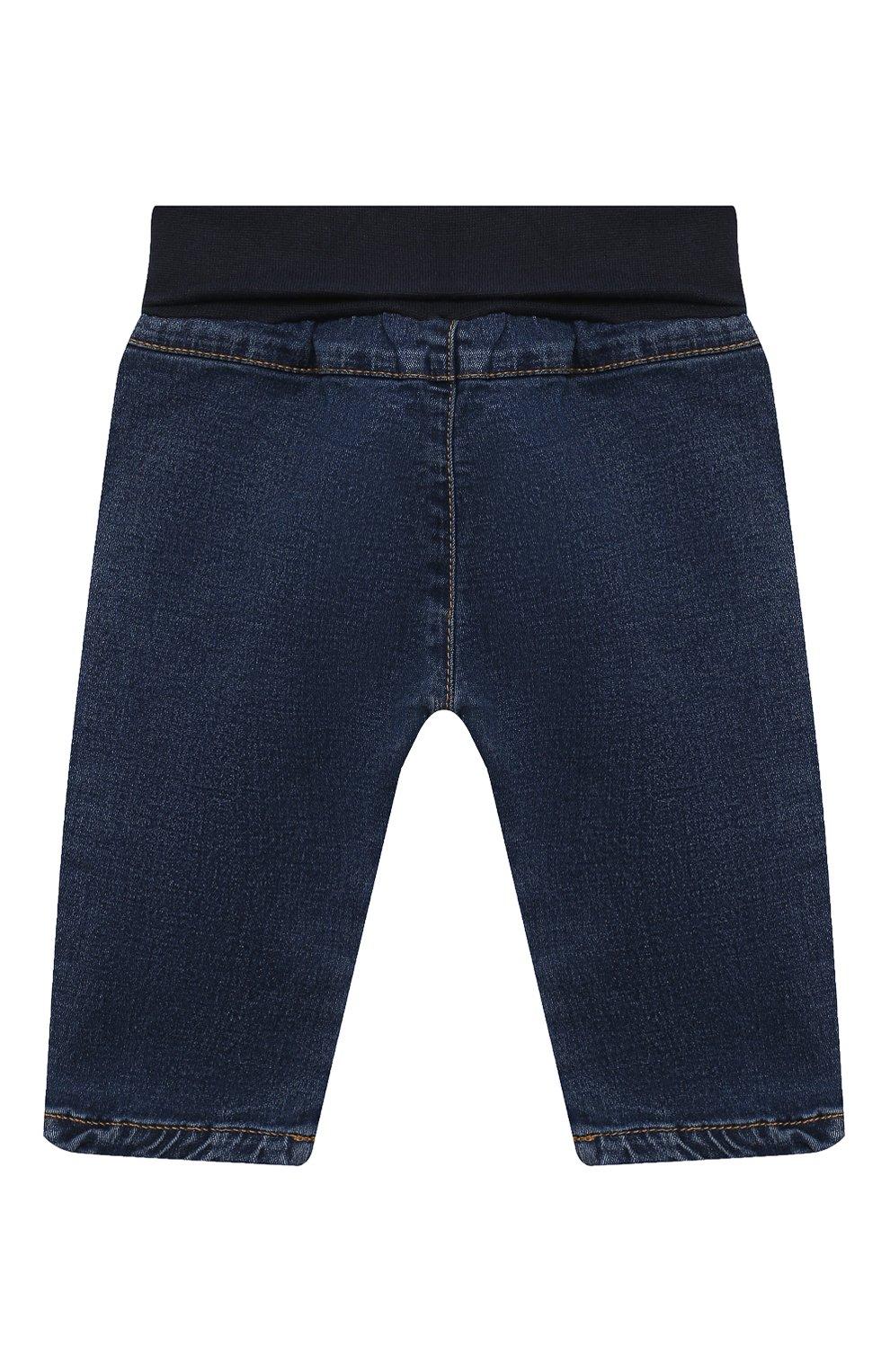 Детские джинсы SANETTA FIFTYSEVEN синего цвета, арт. 902090   Фото 2