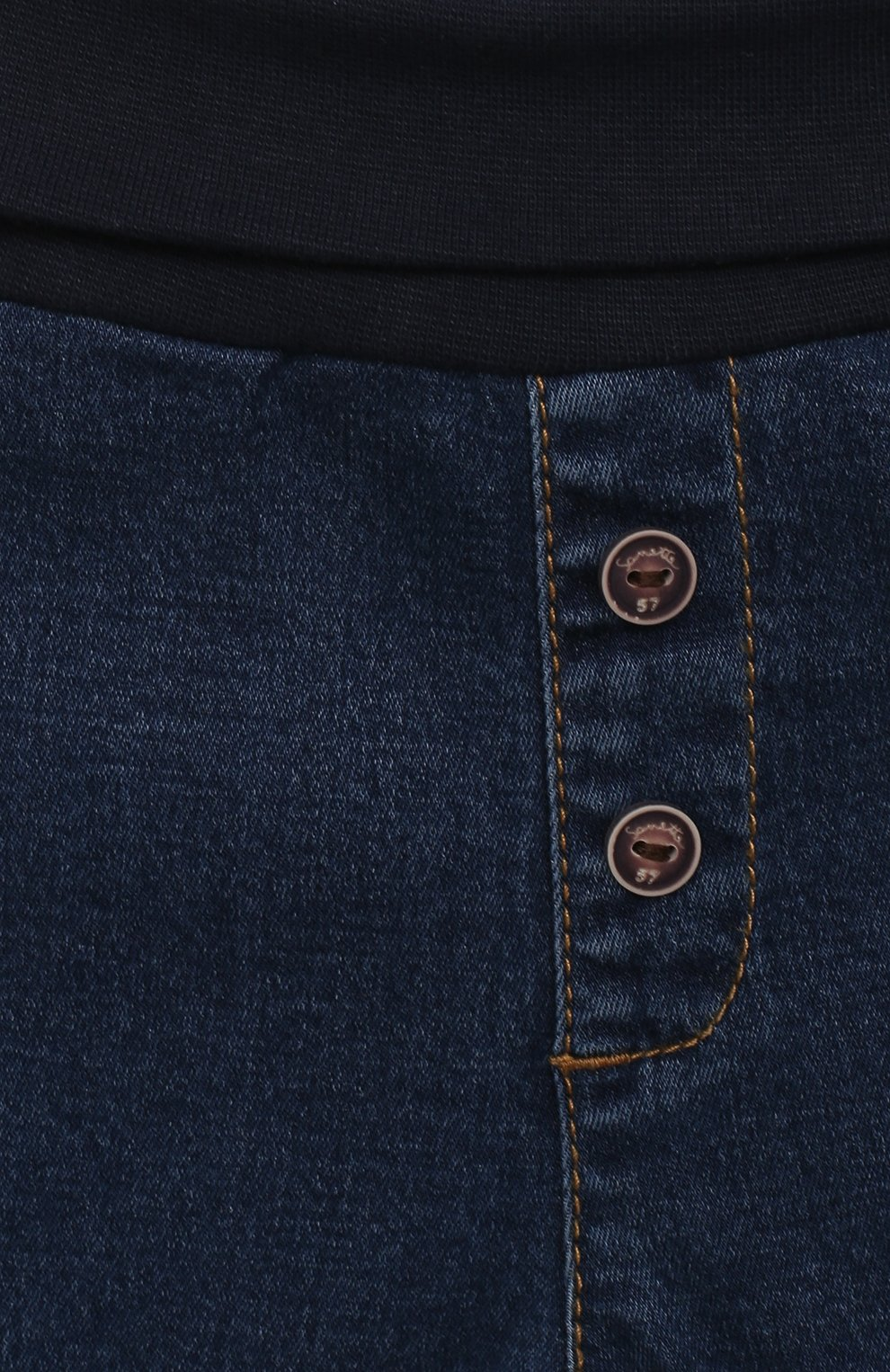 Детские джинсы SANETTA FIFTYSEVEN синего цвета, арт. 902090   Фото 3