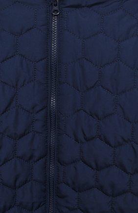 Детский стеганый комбинезон SANETTA FIFTYSEVEN темно-синего цвета, арт. 902085 | Фото 3