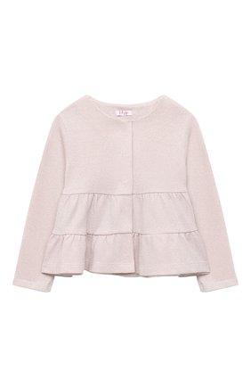 Детский комплект из жакета и брюк IL GUFO розового цвета, арт. A20DP343M0087/5A-8A | Фото 2