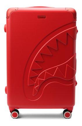 Детский чемодан SPRAYGROUND красного цвета, арт. 9100CL67NSZ   Фото 1 (Материал: Пластик)