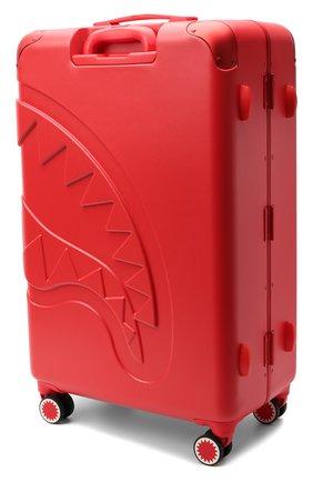Детский чемодан SPRAYGROUND красного цвета, арт. 9100CL67NSZ   Фото 2 (Материал: Пластик)