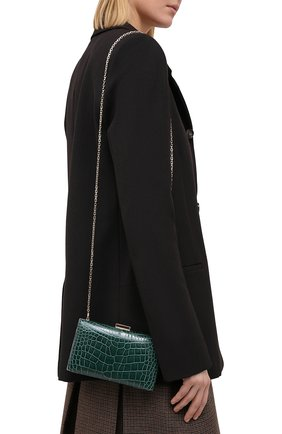 Женский клатч valentino garavani carry secrets VALENTINO зеленого цвета, арт. UW2B0175/C0D/AMIS | Фото 2