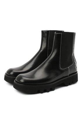 Женские кожаные ботинки J.W. ANDERSON черного цвета, арт. AN35217A/12160 | Фото 1