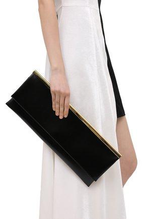 Женский клатч JIL SANDER черного цвета, арт. JSWR856475-WRB00080N | Фото 2