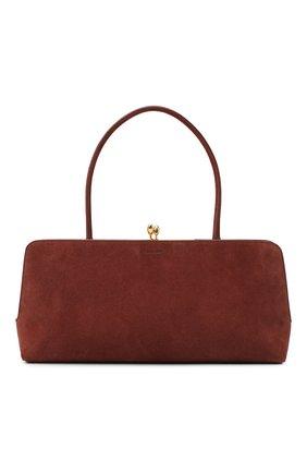 Женская сумка goji JIL SANDER коричневого цвета, арт. JSWR852369-WRB00081N | Фото 1