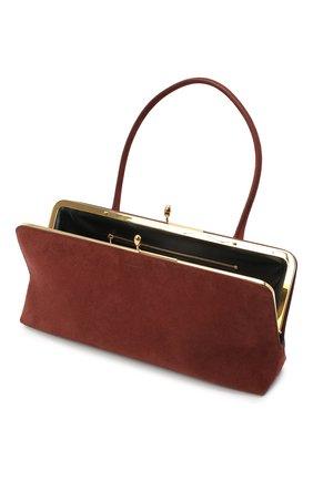Женская сумка goji JIL SANDER коричневого цвета, арт. JSWR852369-WRB00081N   Фото 4
