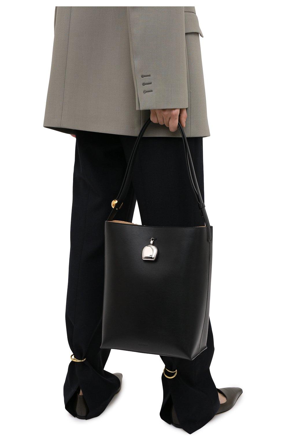 Женская сумка constantin JIL SANDER черного цвета, арт. JSPR852449-WRB00076V   Фото 2