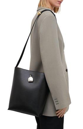 Женская сумка constantin JIL SANDER черного цвета, арт. JSPR852449-WRB00076V   Фото 5