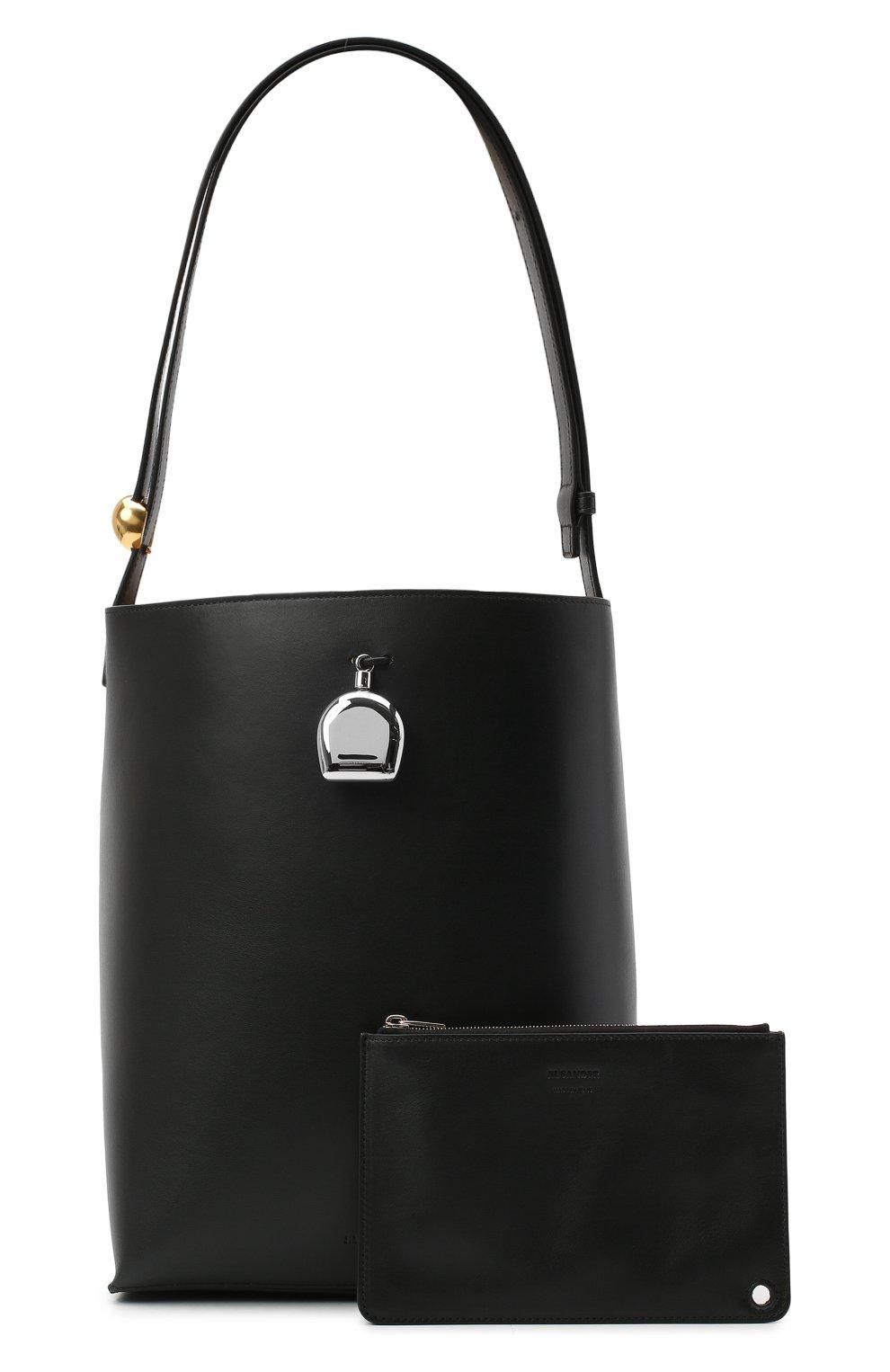Женская сумка constantin JIL SANDER черного цвета, арт. JSPR852449-WRB00076V   Фото 6