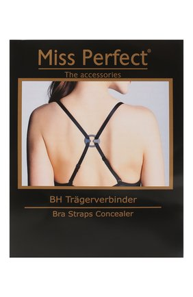 Женские комплект из трех застежек MISS PERFECT черно-белого цвета, арт. MPA60330   Фото 1