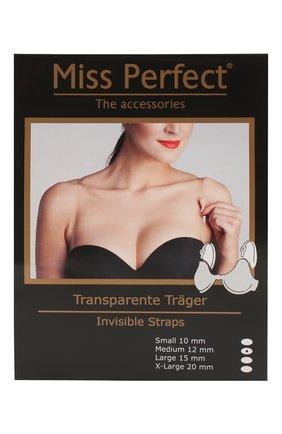 Женские силиконовые бретели MISS PERFECT прозрачного цвета, арт. MPA75001 | Фото 1