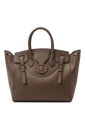 Женская сумка light ricky 33 RALPH LAUREN коричневого цвета, арт. 435791041 | Фото 1