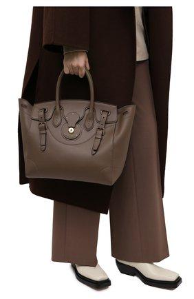 Женская сумка light ricky 33 RALPH LAUREN коричневого цвета, арт. 435791041 | Фото 2
