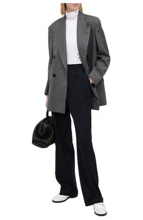 Женский шерстяной жакет FENDI серого цвета, арт. FJ7092 AC2Q | Фото 2