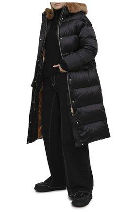 Женский пуховик NICOLE BENISTI черного цвета, арт. NLJ50465 | Фото 2