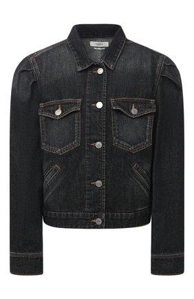 Женская джинсовая куртка ISABEL MARANT ETOILE темно-серого цвета, арт. VE1421-20A034E/B0LINEA | Фото 1