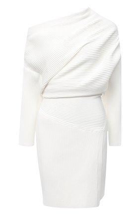 Женское платье из вискозы PROENZA SCHOULER белого цвета, арт. R2047524-KY205 | Фото 1