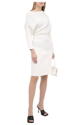 Женское платье из вискозы PROENZA SCHOULER белого цвета, арт. R2047524-KY205 | Фото 2