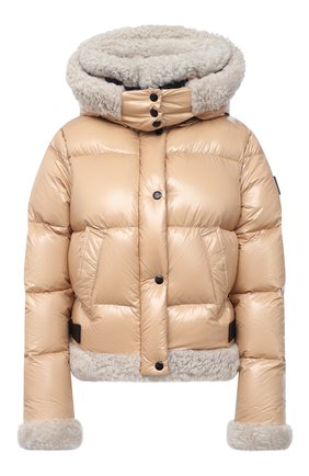 Женская пуховая куртка SAM коричневого цвета, арт. XW0229NDX | Фото 1