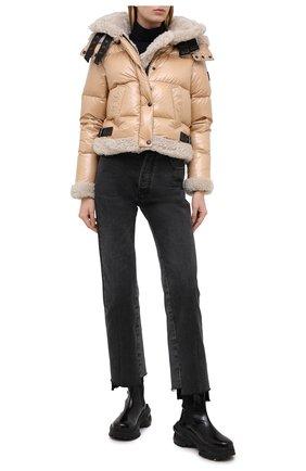 Женская пуховая куртка SAM коричневого цвета, арт. XW0229NDX | Фото 2