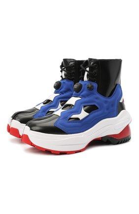 Мужские ботинки maison margiela x reebok tabi instapump fury MAISON MARGIELA разноцветного цвета, арт. S34WU0024/P3782 | Фото 1