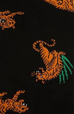Мужские хлопковые носки STORY LORIS черного цвета, арт. 1063 | Фото 2 (Материал внешний: Хлопок; Кросс-КТ: бельё)
