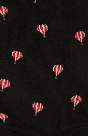 Мужские хлопковые носки STORY LORIS черного цвета, арт. 1095 | Фото 2 (Материал внешний: Хлопок; Кросс-КТ: бельё)