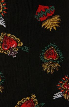 Мужские носки STORY LORIS черного цвета, арт. 201 | Фото 2 (Материал внешний: Синтетический материал, Хлопок; Кросс-КТ: бельё)
