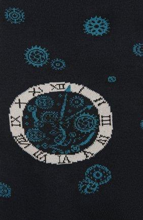 Мужские хлопковые носки STORY LORIS темно-синего цвета, арт. 575 | Фото 2 (Материал внешний: Хлопок; Кросс-КТ: бельё)