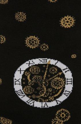 Мужские хлопковые носки STORY LORIS черного цвета, арт. 575 | Фото 2 (Материал внешний: Хлопок; Кросс-КТ: бельё)