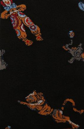 Мужские хлопковые носки STORY LORIS черного цвета, арт. 577 | Фото 2 (Материал внешний: Хлопок; Кросс-КТ: бельё)
