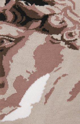 Мужские носки STORY LORIS бежевого цвета, арт. 585 | Фото 2 (Материал внешний: Хлопок, Синтетический материал; Кросс-КТ: бельё)