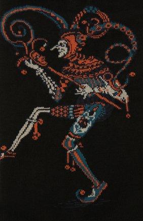 Мужские хлопковые носки STORY LORIS черного цвета, арт. 633 | Фото 2 (Материал внешний: Хлопок; Кросс-КТ: бельё)