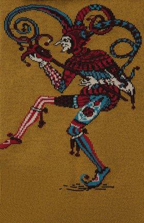Мужские хлопковые носки STORY LORIS коричневого цвета, арт. 633   Фото 2