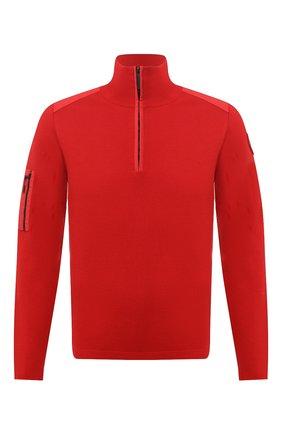 Мужской шерстяной джемпер CANADA GOOSE красного цвета, арт. 7013M   Фото 1