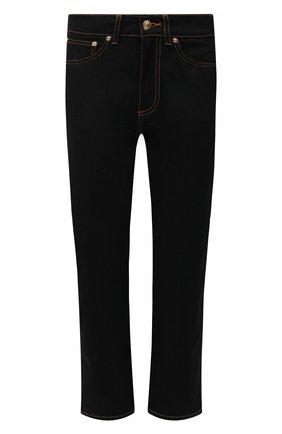 Женские джинсы BURBERRY черного цвета, арт. 8033495 | Фото 1