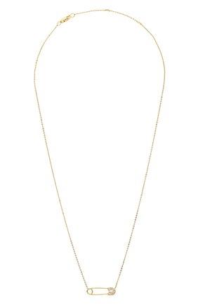 Женское колье J-POINT желтого цвета, арт. ИПГ857.59.110719.12Y   Фото 1