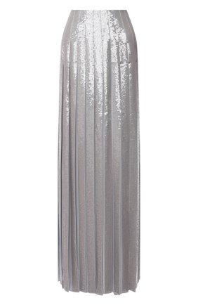 Женская шелковая юбка RALPH LAUREN серого цвета, арт. 290824116 | Фото 1