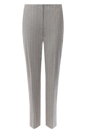 Женские шерстяные брюки RALPH LAUREN серого цвета, арт. 290821334 | Фото 1