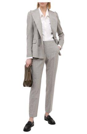 Женский кашемировый жакет RALPH LAUREN серого цвета, арт. 290625543 | Фото 2