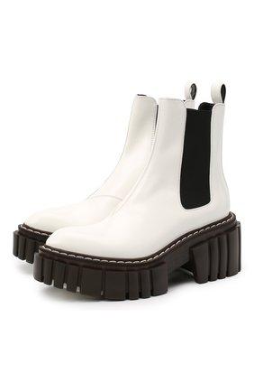 Женские ботинки STELLA MCCARTNEY белого цвета, арт. 800251/N0132 | Фото 1