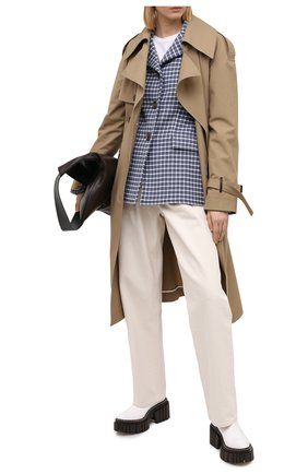 Женские ботинки STELLA MCCARTNEY белого цвета, арт. 800251/N0132 | Фото 2