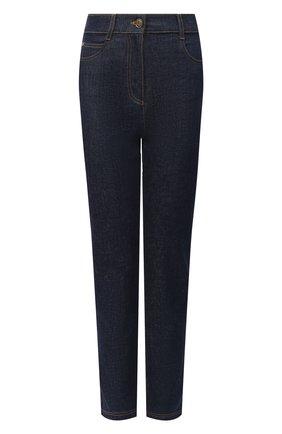 Женские джинсы FENDI синего цвета, арт. FLP673 AD9C | Фото 1